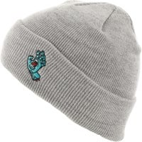 Santa Cruz Screaming Hand Beanie - grey