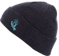 Santa Cruz Screaming Hand Beanie - navy