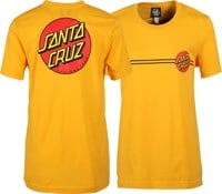 Santa Cruz Women's Classic Dot T-Shirt - gold