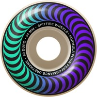 Spitfire Formula Four Classic Skateboard Wheels - faders-natural/teal (99d)