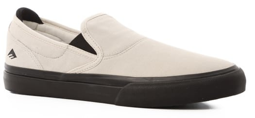 Emerica Wino G6 Slip-On Shoes - white/black - view large