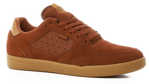 Etnies Veer Michelin Skate Shoes - (trevor mcclung) brown/gum - view large