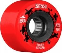 Bones ATF Rough Riders Skateboard Wheels - wranglers red (80a)