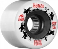 Bones ATF Rough Riders Skateboard Wheels - wranglers white (80a)