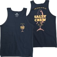 Salty Crew Up N Down Tank - navy