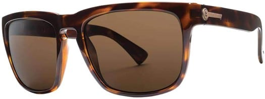 Electric Knoxville XL Polarized Sunglasses - gloss tortoise/ohm polar bronze lens - view large