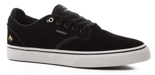 Emerica Dickson G6 Skate Shoes - black/white/gold - view large