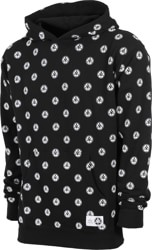 Welcome Tali-Dot French Terry Hoodie - black/white