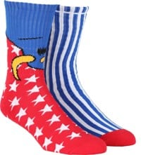 Toy Machine American Monster Sock - royal-usa