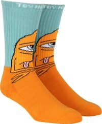 Toy Machine Bored Sect Sock - blue