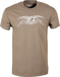 Anti-Hero Basic Eagle T-Shirt - coffee/raw