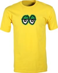 Krooked Eyes LG T-Shirt - yellow/green