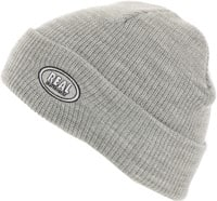 Real Oval Beanie - heather grey/grey