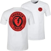 Thunder Trucks Charged Grenade T-Shirt - white/black/red