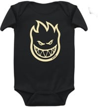 Spitfire Toddler Bighead Onesie - black/raw