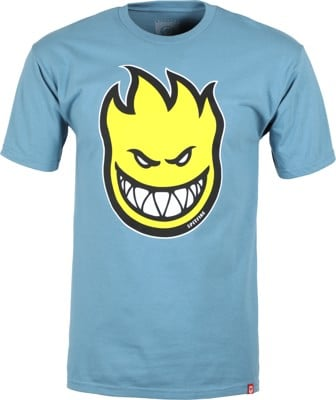 Spitfire Bighead Fill T-Shirt - slate/yellow - view large
