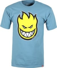 Spitfire Bighead Fill T-Shirt - slate/yellow