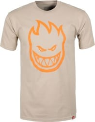 Spitfire Bighead T-Shirt - sand/orange print