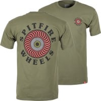 Spitfire OG Classic Fill T-Shirt - military green/multi-color