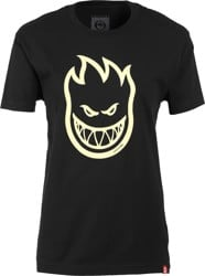 Spitfire Women's Bighead T-Shirt - black/raw