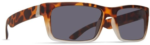 Dot Dash Lads Sunglasses - leopard tortoise satin/grey lens - view large