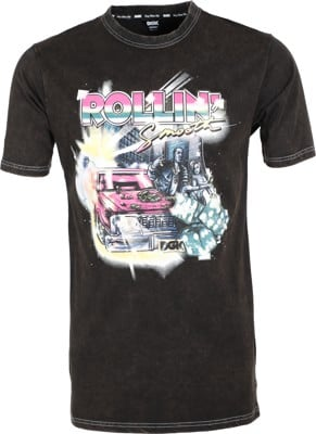 DGK Rollin' T-Shirt - washed black - view large