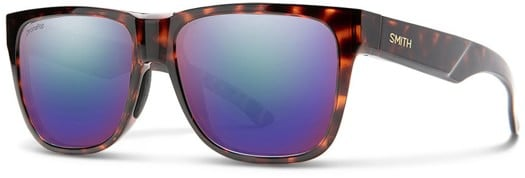 Smith Lowdown 2 Polarized Sunglasses - tortoise/chromapop polarized violet mirror lens - view large