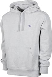 Adidas Shmoo Hoodie - light grey heather/purple