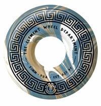 Element Greek Gods Skateboard Wheels - white/blue (99a)