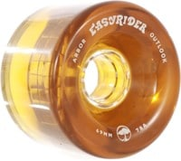 Arbor Outlook Easy Rider Series Longboard Wheels - amber v2 (78a)