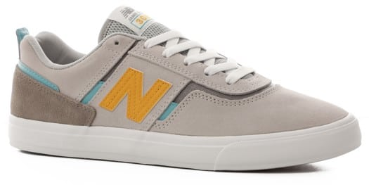 New Balance Numeric 306 Skate Shoes - grey/yellow - view large