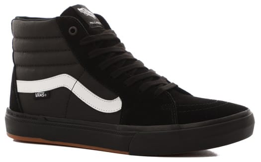 Vans Sk8-Hi Pro BMX Skate Shoes - black/white - view large