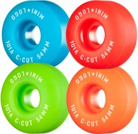 Mini Logo C-Cut Skateboard Wheels - assorted mix 2 (101a)