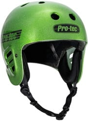 ProTec Full Cut Certified EPS Skate Helmet - green flake