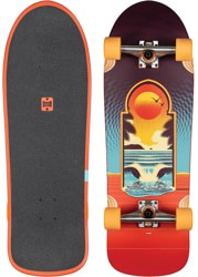 Globe Aperture 9.9 Complete Skateboard - cult of freedom/portal