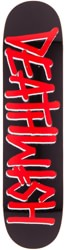 Deathwish Deathspray 8.25 Skateboard Deck - black/red