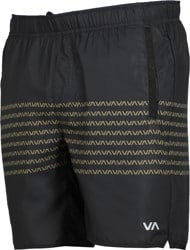 RVCA Yogger IV Shorts - black/green
