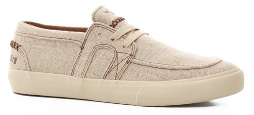 State Vista Skate Shoes - (matt rodriguez) natural/white hemp - view large