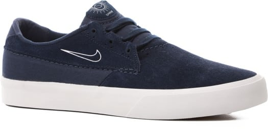 Nike SB Shane Skate Shoes - midnight navy/white-cerulean - view large