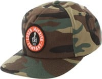 Loser Machine Good Luck Snapback Hat - camo