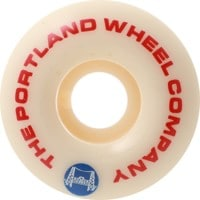 Portland Wheel Company The Standard V2 Skateboard Wheels - white (101a)