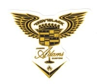 Black Label Jason Adams El Dorado Sticker - yellow