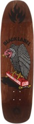 Black Label Vulture Curb Club 8.88 Skateboard Deck - brown stain