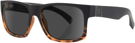 MADSON Camino Polarized Sunglasses - matte black tortoise fade/grey polarized lens - view large
