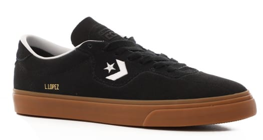 Converse Louie Lopez Pro Skate Shoes - black/white/gum - view large