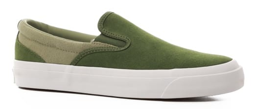 Converse One Star CC Slip-On Shoes - cypress green/street sage/white - view large