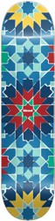 Almost Tile Pattern 7.75 Skateboard Deck - blue