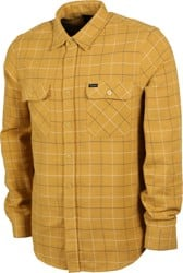 Brixton Bowery Flannel - honey