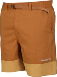 Brixton Cinch Crossover Shorts - copper