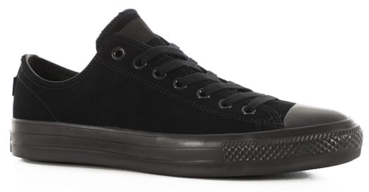 Converse Chuck Taylor All Star Pro Skate Shoes - (suede) black/black/black - view large
